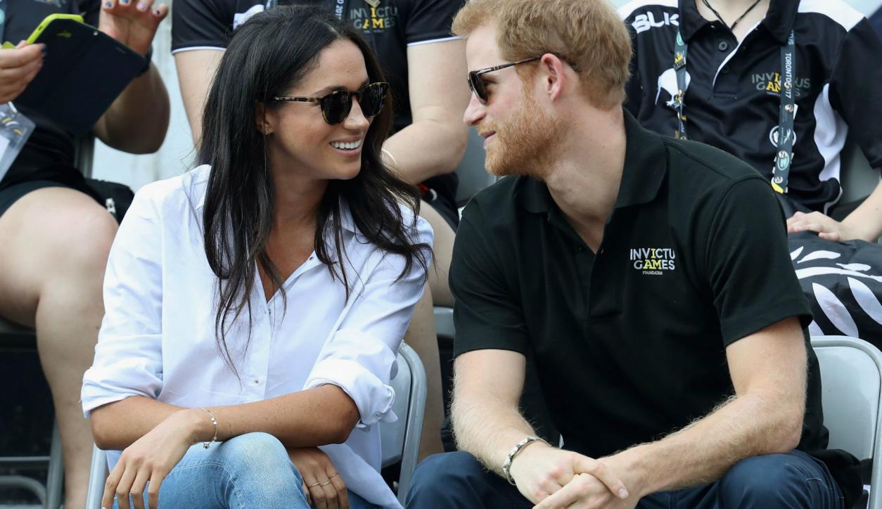 El príncipe Harry y Meghan Markle en septiembre de este año. Foto: AFP.