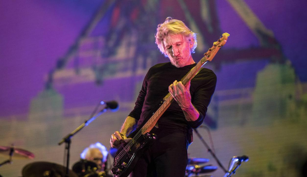 Roger Waters en México en 2016. Foto: Efe.