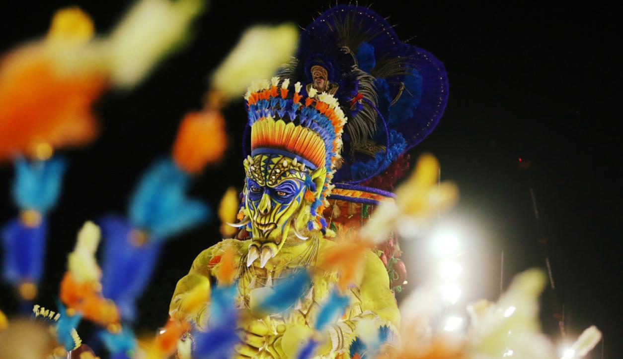Uniao da Ilha Samba en el segundo día del desfile en el Sambódromo. Foto: Reuters
