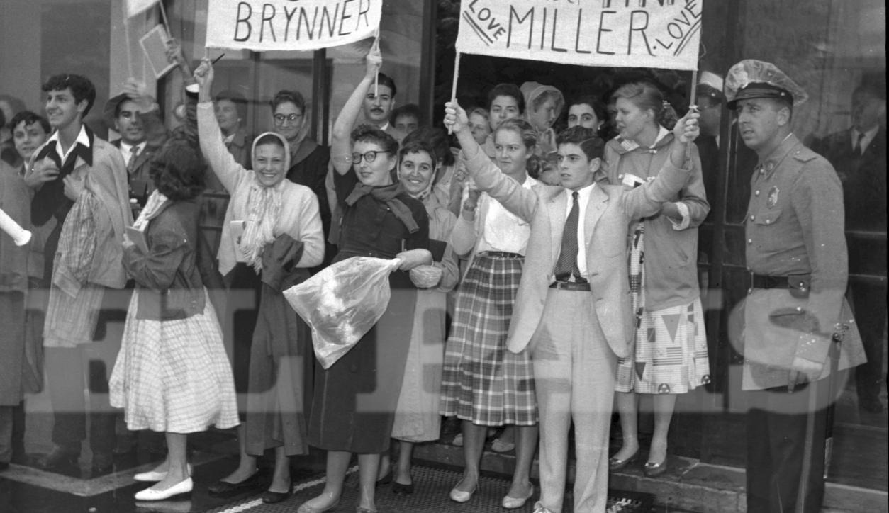 Festival de Cine de Punta de Este en 1950. Foto: Archivo El País