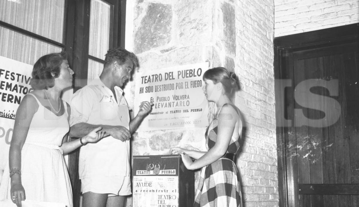 China Zorrilla y Marina Vlady. Foto: Archivo El País