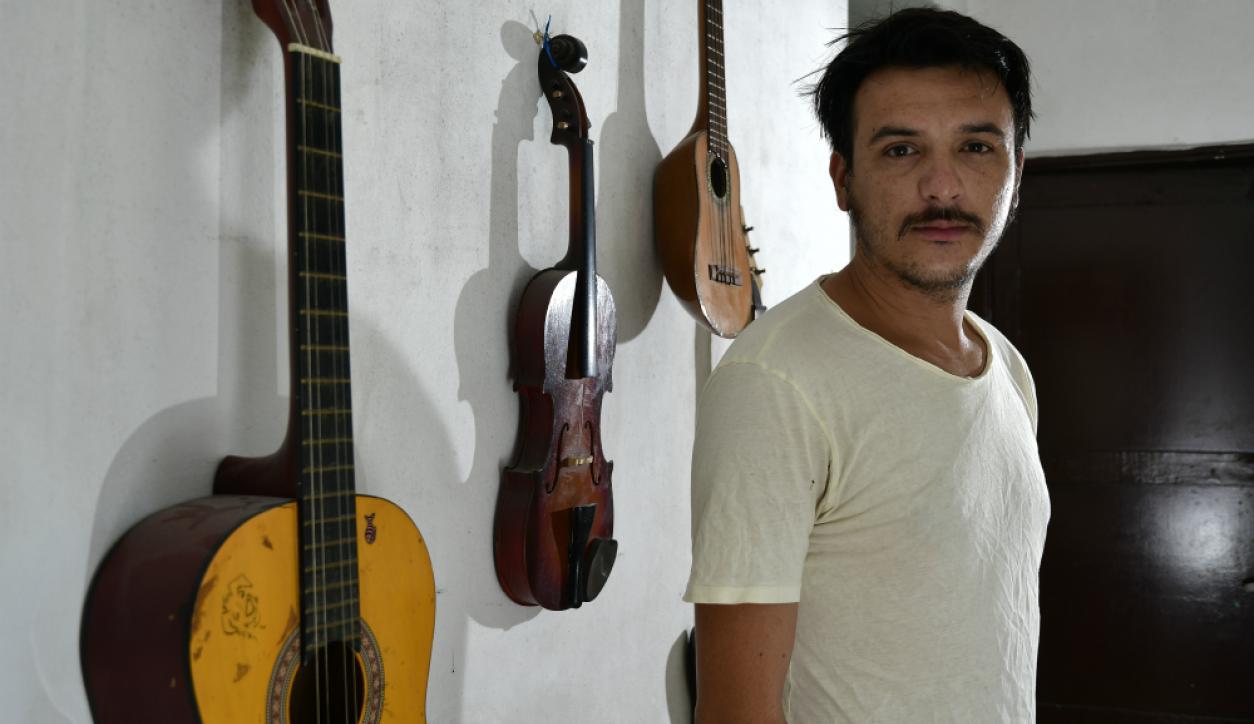 Lucas Pintos, un murguero que lleva el Carnaval en las venas.