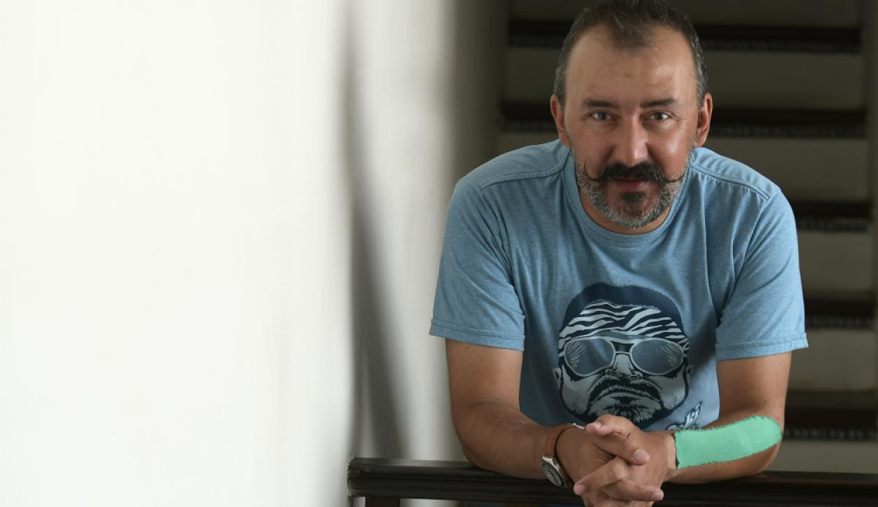 Moré, actor del Teatro Circular de Montevideo