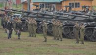 El Regimiento Pablo Galarza, en Durazno, cuenta con 289 efectivos. Foto: V. Rodríguez