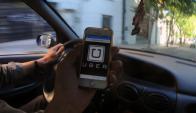 Uber: su desembarco generó el debate más profundo sobre el transporte que se recuerde. Foto: F. Ponzetto