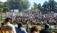 El festival tradicional realizado en Minas congrega decenas de personas. Foto: archivo El País