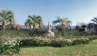 La estatua, de 1,80 metros, fue adquirida en México. Foto: Iglesia Católica del Uruguay