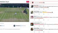 Wimbledon. La plataforma presenta resúmenes, segmentos y noticias, pero no partidos.