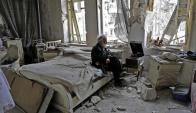 Alepo: tras seis años de guerra, el régimen sirio recupera zonas en poder de rebeldes. Foto: AFP