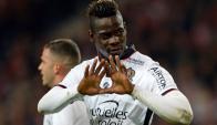 Mario Balotelli anotó dos goles para la victoria de Niza. Foto: AFP