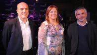 Oscar Curuchet, María Elisa Areán, Daniel Martínez.