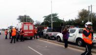 Inspector de tránsito fue embestido por motociclista. Foto: www.paysandu.gub.uy