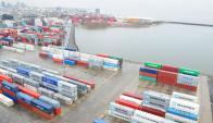 La terminal de contenedores decidió realizarle una demanda a la ANP. Foto. M. Bonjour