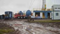 Petróleo: una empresa americana busca crudo en Tambores. Foto: Daniel Rojas