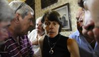 Mariana Mota. La Corte de Justicia la removió del juzgado penal que ocupaba desde 2009; tenía 50 causas contra militares. Foto: Inés Guimaraens