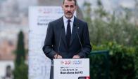 El rey Felipe ayer en Cataluña. Foto: AFP