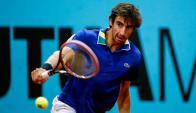 Confianza. La de Pablo Cuevas para jugar nuevamente un Grand Slam. Foto: AFP