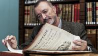 """""""Mi casa es una biblioteca"""", bromea el novelista español. Foto: Difusión"""