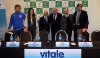 Enrique Pérez Cassarino, Patricia Filluelo, Julio César Maglione, Ruben Marturet, Alfredo Etchandy, Carlos Bercianos.