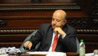 El senador Germán Coutinho molesto con el Frente Amplio. Foto: Francisco Flores