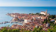 La parte de Eslovia situada a orillas del mar Adriático. Foto: EFE