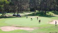 """Club del Lago. """"Es un diseño muy bueno"""", dijo Jack Warfield, presidente del PGA Latinoamérica, sobre los links."""