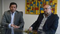 Oscar Moratto y Miguel Tenorio. Foto: Ariel Colmegna