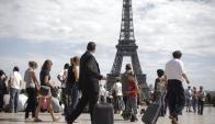 Torre Eiffel: recibe seis millones de visitantes por año. Foto: AFP