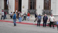 Postergada la comparecencia de municipales denunciados. Foto: L. Pérez