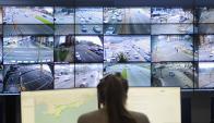 El sistema tiene 30 puntos de la ciudad controlados por cámaras y radares digitales. Foto: F. Ponzetto