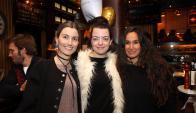 Carolina Barquet, Patricia Tiscornia, María Imhof.