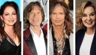 Gloria Estefan, Mick Jagger, Steven Tyler, Jessica Lange.