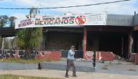 Los vecinos de Malvín colocaron el cartel para llamar la atención de la IMM. Foto: A. Colmegna