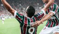 Fluminense. Henrique Dourado. Foto: AFP
