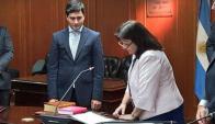Agustin Cinto juró como Administrador General del Poder Judicial. Foto: Twitter @cmagistratura