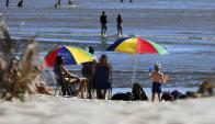 Ante el calor, se recomienda evitar actividades físicas entre las 11:00 y las 18:00 horas. Foto: F. Ponzetto.