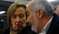 La ministra Muñoz recibió ola de críticas por comparar a Netto con Varela. Foto: F. Ponzetto