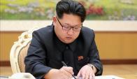 El gobierno de Kim Jong-un realizó una prueba nuclear con una bomba de hidrógeno. Foto: EFE.