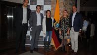 Nicolás Iervolino, Nicolás Añón, María José Cuevas, Natalia Falcao, Gilberto Echeverry.