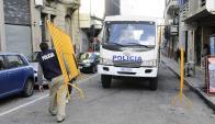 Operadores judiciales se quejan de la escasa seguridad en el entorno de los juzgados. Foto: A. Colmegna