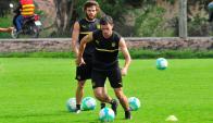 Lucas Hernández y Nahitan Nández. Foto: Francisco Flores