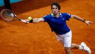 Pablo Cuevas. Foto: AFP