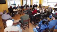 En la primer reunión, más de 100 personas denunciaron haber sido robadas. Foto: R. Figueredo