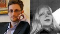 Edward Snowden reclamó por la libertad de Chelsea Manning. Fotos: Archivo.