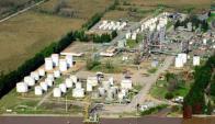 La planta de Carboclor está ubicada en la localidad de Campana. Foto: Archivo El País