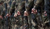 """Valores cívicos y un oficio, eso es lo que ofrece el ejército a unos 131000 """"ni-ni"""". Foto: AFP"""