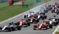 Adelante. El equipo Mercedes ha sido el gran dominador en los últimos tres campeonatos. Foto: Reuters