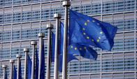 Banderas de la Unión Europea en Bruselas.Foto: Reuters