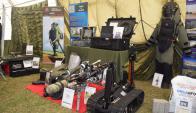 El equipo anti explosivos reduce el riesgo al que se somete el personal. Foto: V. Rodríguez