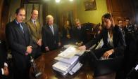"""Astori: """"El de los impuestos no es el camino que el gobierno hubiese preferido elegir"""". Foto: D. Borrelli"""